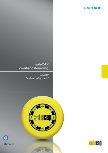 safeCAP Two-hand safety control