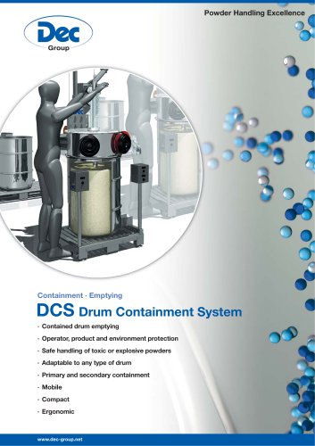 DCS Drum Containment System Emptying