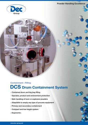 DCS Drum Containment System Filling