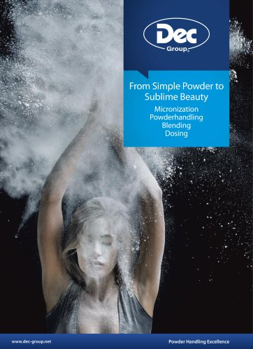 From Simple Powder to Sublime Beauty