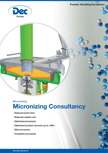 Micronizing Consultancy