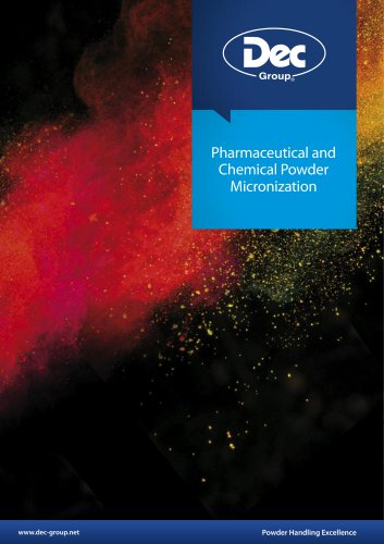 Pharmaceutical and Chemical Powder Micronization