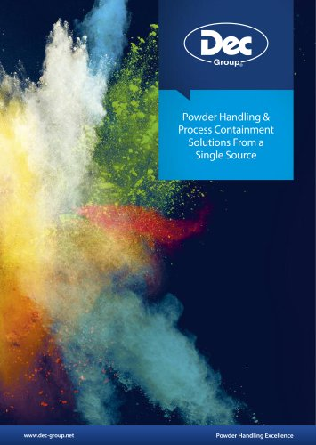 Powder Handling & Process Solutions from a Single Source