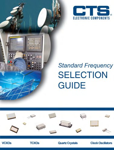 standard frequency selection guide