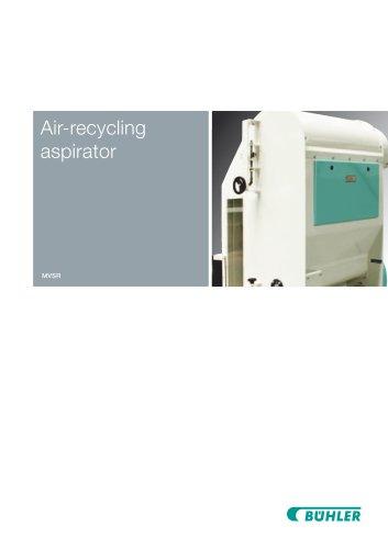 Air-Recyling Aspirator MVSQ