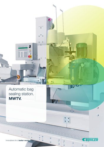 Automatic Bag Closing Station MWTV