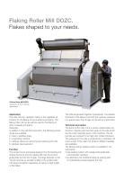 Flaking Roller Mill DOZC - 2