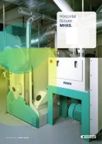 Horizontal Scourer MHXS - 1
