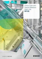 Online Color and Specks Measurement Unit MYHB - 1