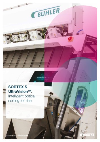 SORTEX S UltraVision Brochure