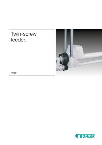 Twin-Screw Feeder MWSP