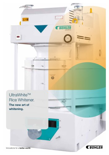 UltraWhite? Rice Whitening Machine DRWA