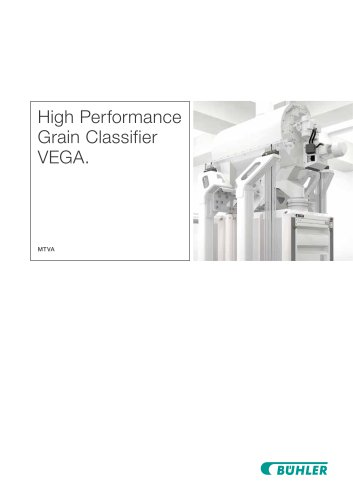 Vega High Performance Grain Classifier MTVA