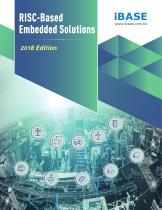 RISC- BASED EMBEDDED SOLUTIONS 2018
