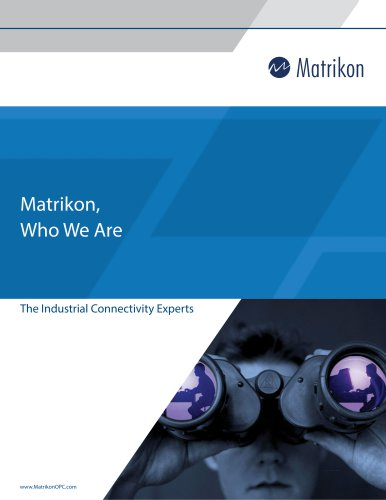Matrikon_Who we are