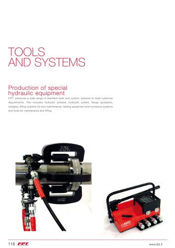Tools and Systems