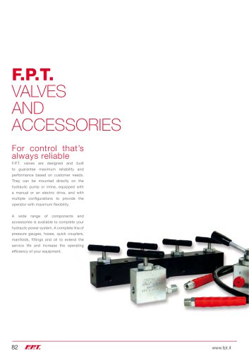 valves and accessories