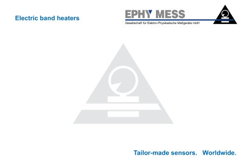 Electric band heaters