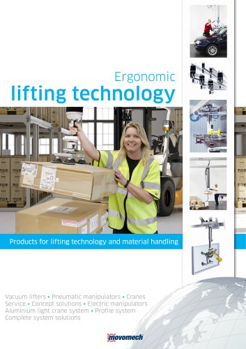Ergonomic Lifting Technology - Products for lifting and material handling