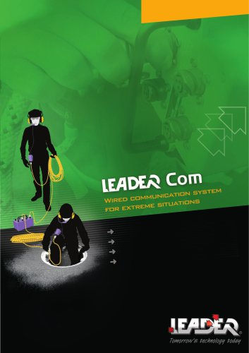 Confined Spaces Communication - Black HARD LINE