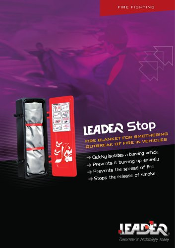 LEADER Stop - Fire blanket