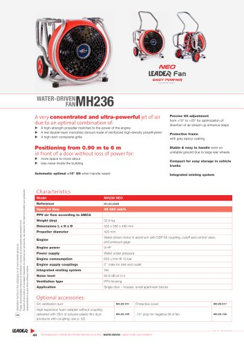 WATER-DRIVEN  FAN MH236
