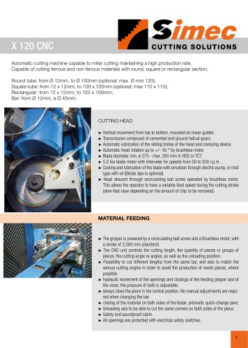 X 120 CNC