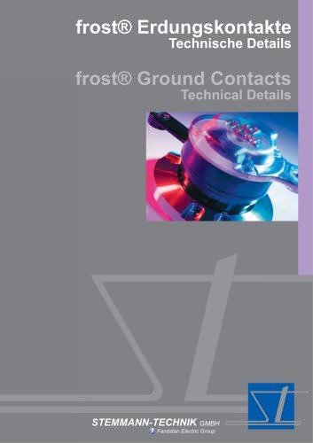 frost® ground contacts - Technical Details