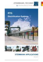 Stemmann-Technik - eRTG - ST-RTG-Electrification