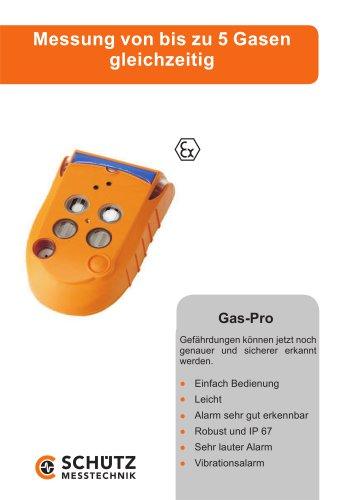 Multi-Function Measuring Device Gas-Pro