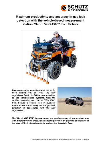 SCOUT VGS 4500