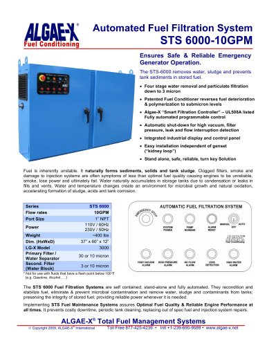 STS 6000-10GPM