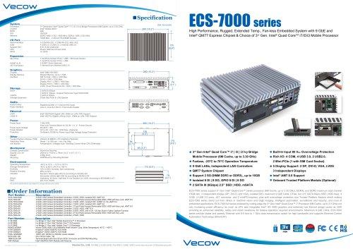 ECS-7000 series