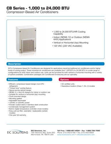 1000-24000 BTU Compressor-based Air Conditioners