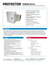 1G2020 Prepackaged Air Conditioned Enclosure - 1