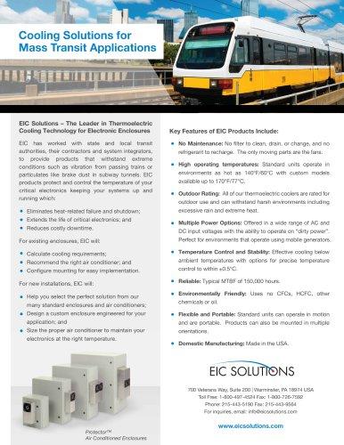 Mass Transit Applications