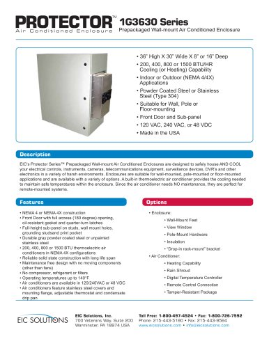 protector 1G3630 Series