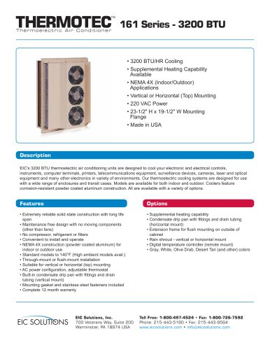 thermotech 161 Series - 3200 BT