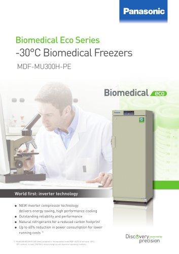 -30°C Biomedical ECO Freezers MDF-MU300H-PE