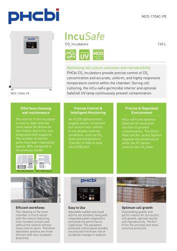 MCO-170AC-PE CO2 Incubators
