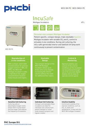 MCO-5M-PE Multigas Incubators