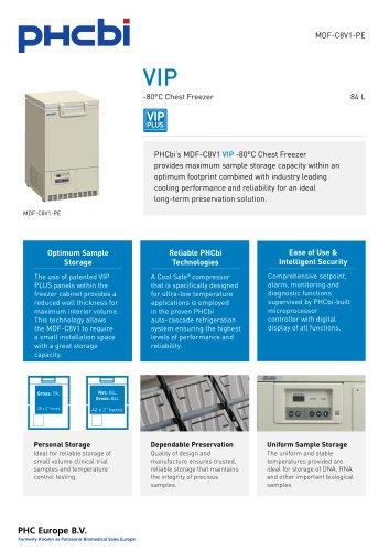 MDF-C8V1-PE -80°C Chest Freezer
