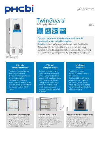 MDF-DU302VX-PE -86°C Upright Freezer