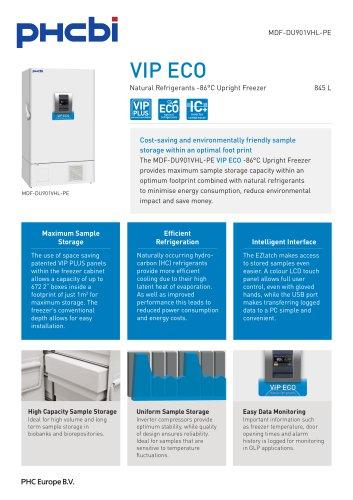 MDF-DU901VHL-PE VIP ECO ULT Freezer