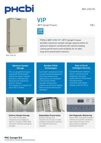 MDF-U76V-PE -85°C Upright Freezer