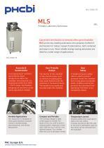 MLS-3020U-PE Portable Laboratory Autoclave