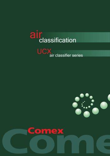 Air Classifier - ultrafine powders