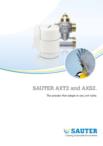 SAUTER AXT2 and AXS2.
