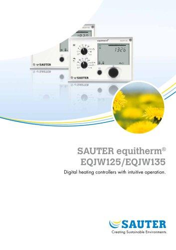 SAUTER equitherm ® EQJW125/EQJW135