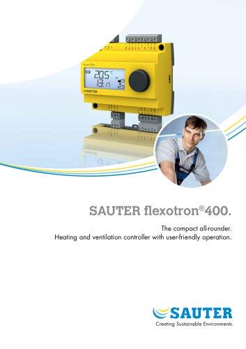 SAUTER flexotron ® 400